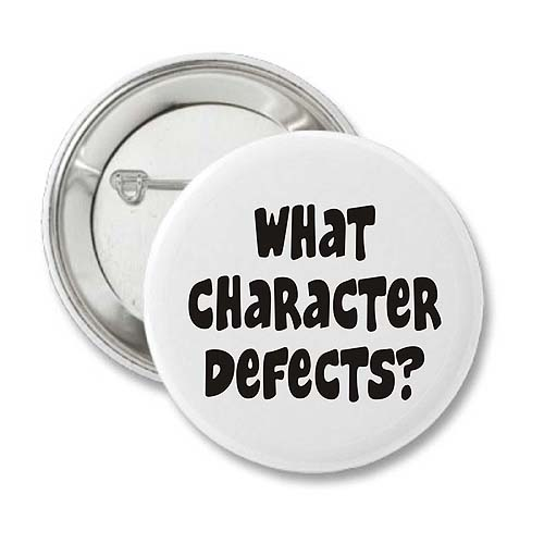 Removing my Character Defects – Character Defects Worksheet