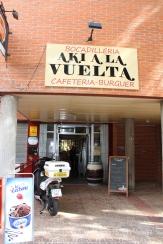 Spanish hamburger joint